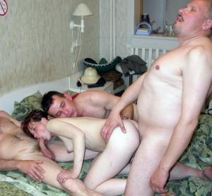 Fickende Familie